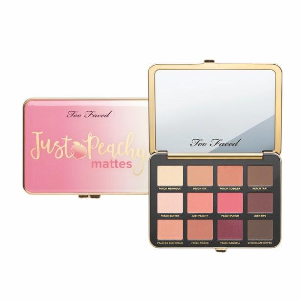 Too Faced Just Peachy Velvet Matte Eyeshadow Palette UK