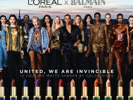 L'oreal x Balmain Lipsticks UK