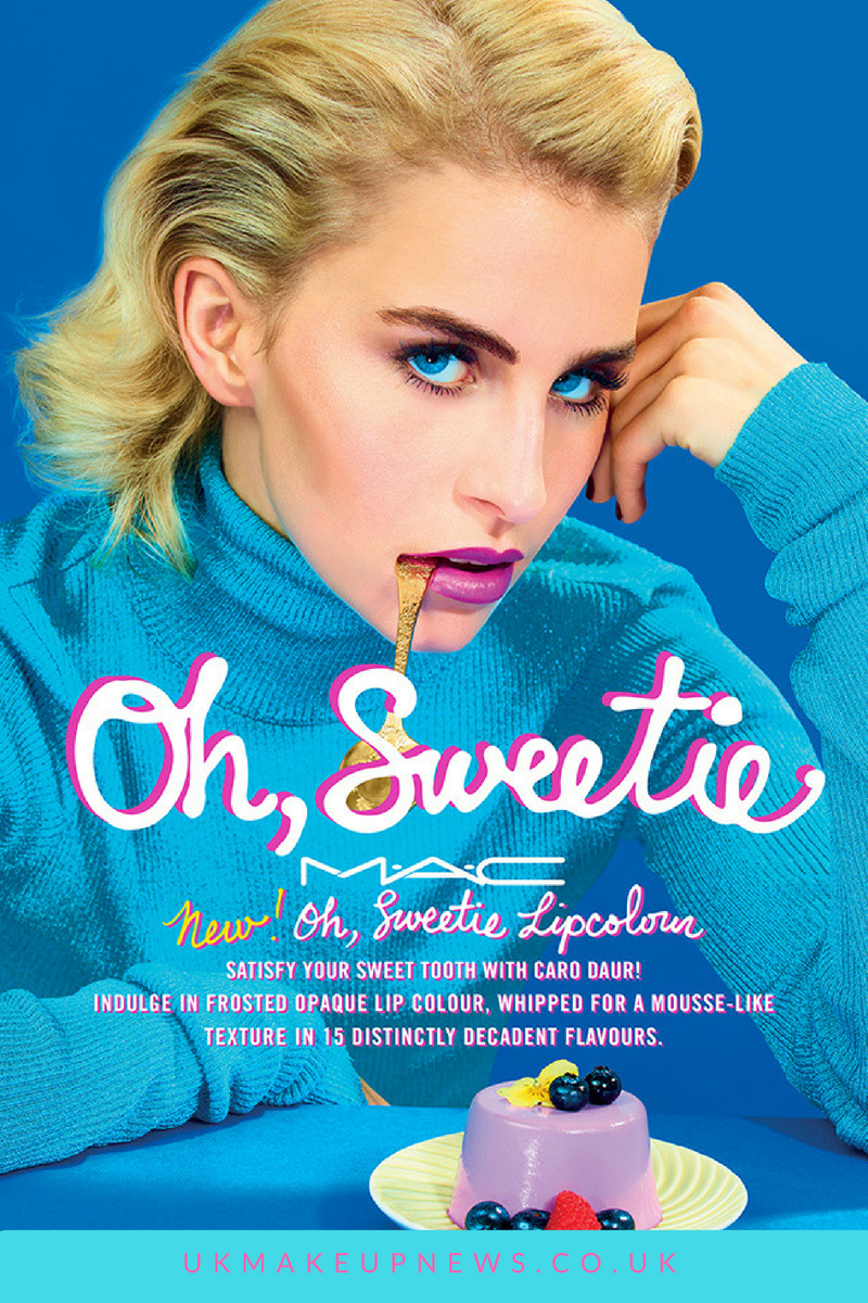 MAC Oh, Sweetie Lip Colour Collection | UK Beauty News | FYI Beauty