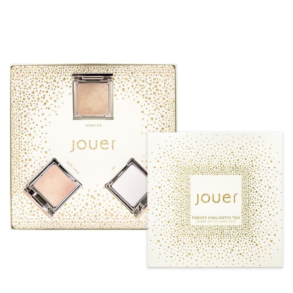 Jouer Cosmetics Travel Sized Powder Highlighter Gift Set 2 | UK Makeup News | FYI Beauty