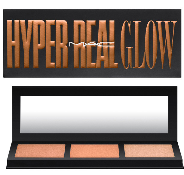 MAC Cosmetics Hyper Real Glow Shimmy Peach Palette | UK Makeup News | FYI Beauty