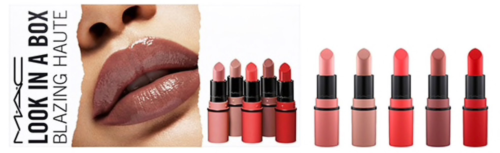 MAC Look In A Box 2018 Blazing Haute UK   UK Makeup News   FYI Beauty