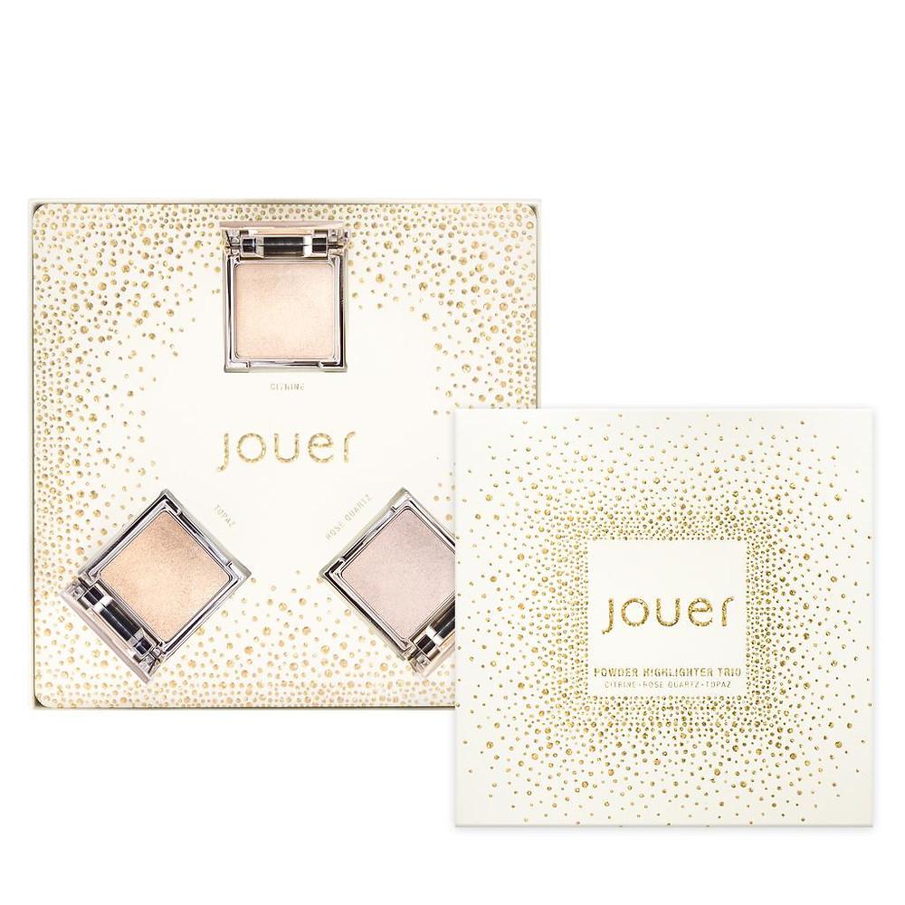 Jouer Cosmetics Travel Sized Powder Highlighter Gift Set 1 | UK Makeup News | FYI Beauty