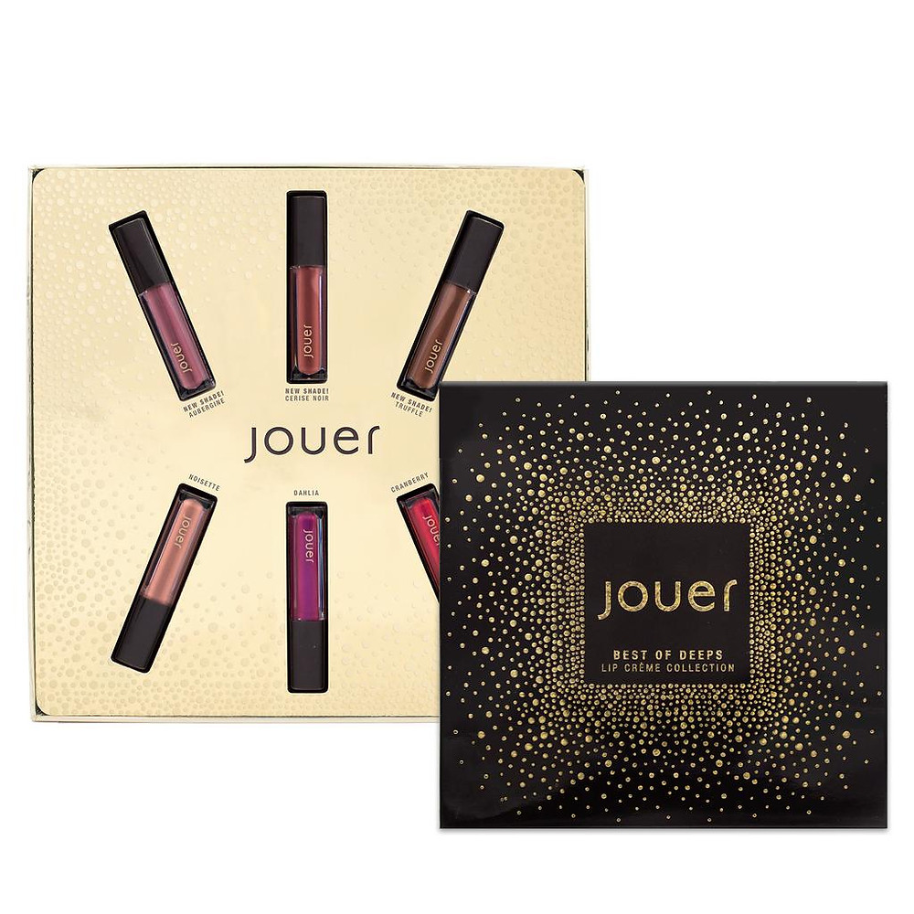 Jouer Cosmetics Best of Deeps Mini Lip Crème Set | UK Makeup News | FYI Beauty