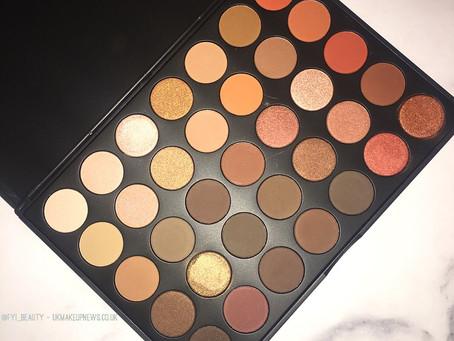 Sample Beauty Warm Eyeshadow Palette Review