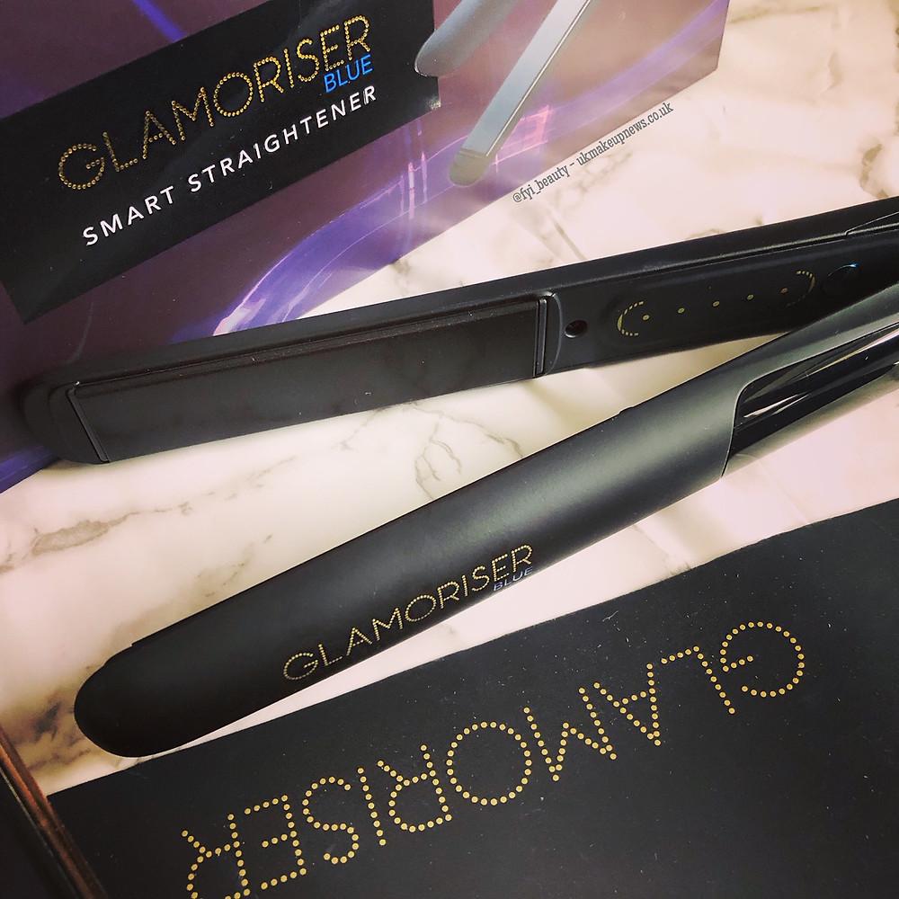 Glamoriser Blue Smart Straighteners Bluetooth Review | UK Makeup News | FYI Beauty
