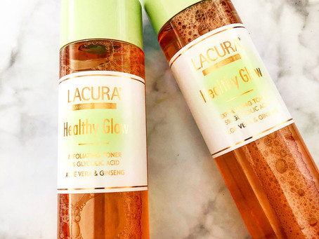 Lacura Healthy Glow Exfoliating Toner Review