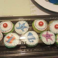 Fondant Design Cupcakes