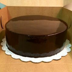 Cake Ganache Topping