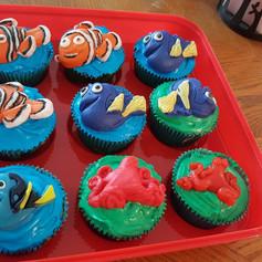 Nemo Fish Cupcakes