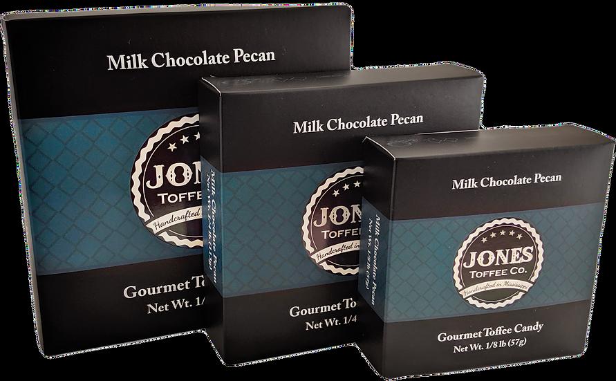 Milk Chocolate Pecan Toffee