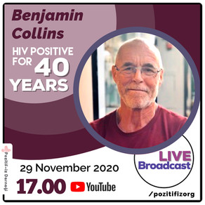 Benjamin Collins Living with HIV For 40 Years Is On Air