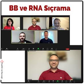 'Belirlenemeyen = Bulaşmayan' ve RNA Sıçraması Etkinliğini Gerçekleştirdik