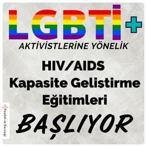 LGBTİ+ Aktivistlerine Yönelik  Eğitimlerimiz Başlıyor