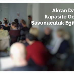 Akran Eğitiminin İlki 9-10 Şubatta  İstanbul'da Gerçekleştirildi