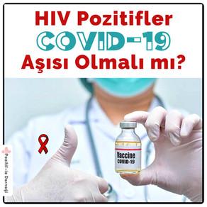 HIV Pozitifler Covid-19 Aşısı Olmalı Mı?