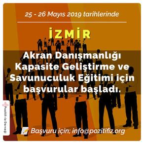 HIV Kapasite Geliştirme Eğitimleri  İzmir'de Devam Ediyor