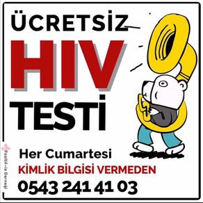 Anonim ve Ücretsiz HIV Testi