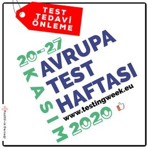 Avrupa Test Haftası Başladı…