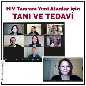 HIV Tanısını Yeni Alanlar İçin Tanı ve Tedavi Semineri Düzenledik