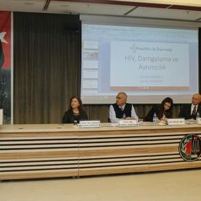 Ankara Barosu'nda 'HIV' Paneline Katıldık