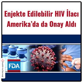 Enjekte Edilebilir HIV İlacı Amerika'da da Onay Aldı