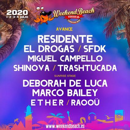WEEKEND BEACH FESTIVAL TORRE DEL MAR