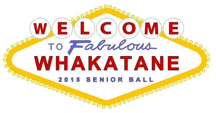 Whakatane School Ball Photo Booth Logo