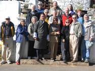 Paro, Bhutan, group photo.
