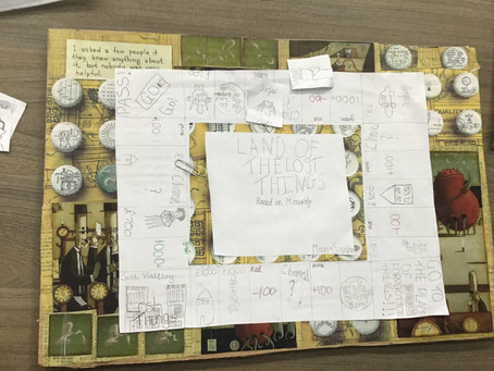 The Lost Thing Board Game!