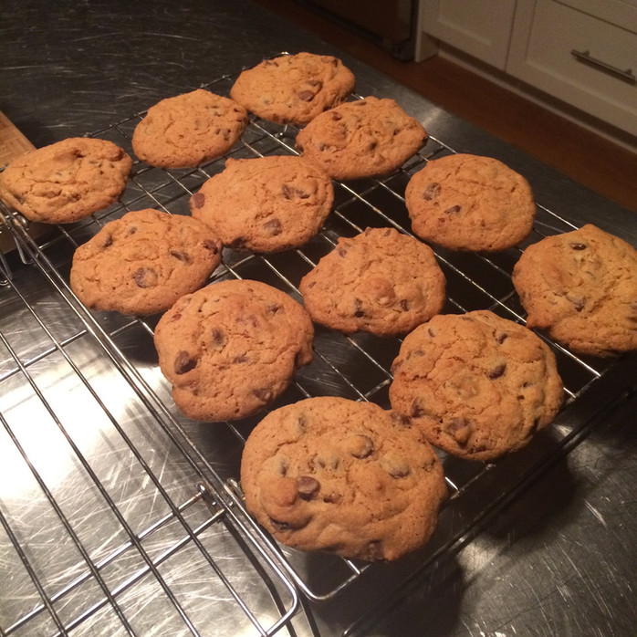 Chocolate Chip Cookies by accident