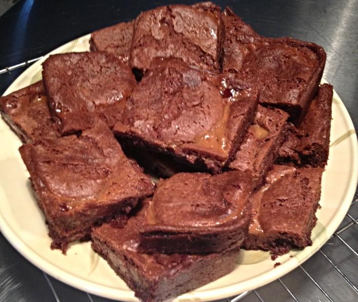 Haley's Caramel Brownies