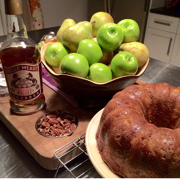 Belle Meade Bourbon Apple Cake