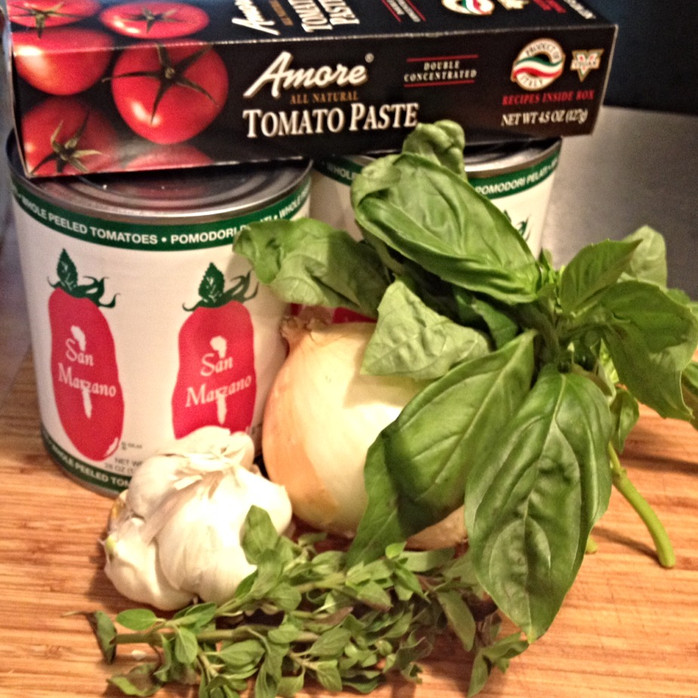 Tomato Basil Soup/Marinara Sauce
