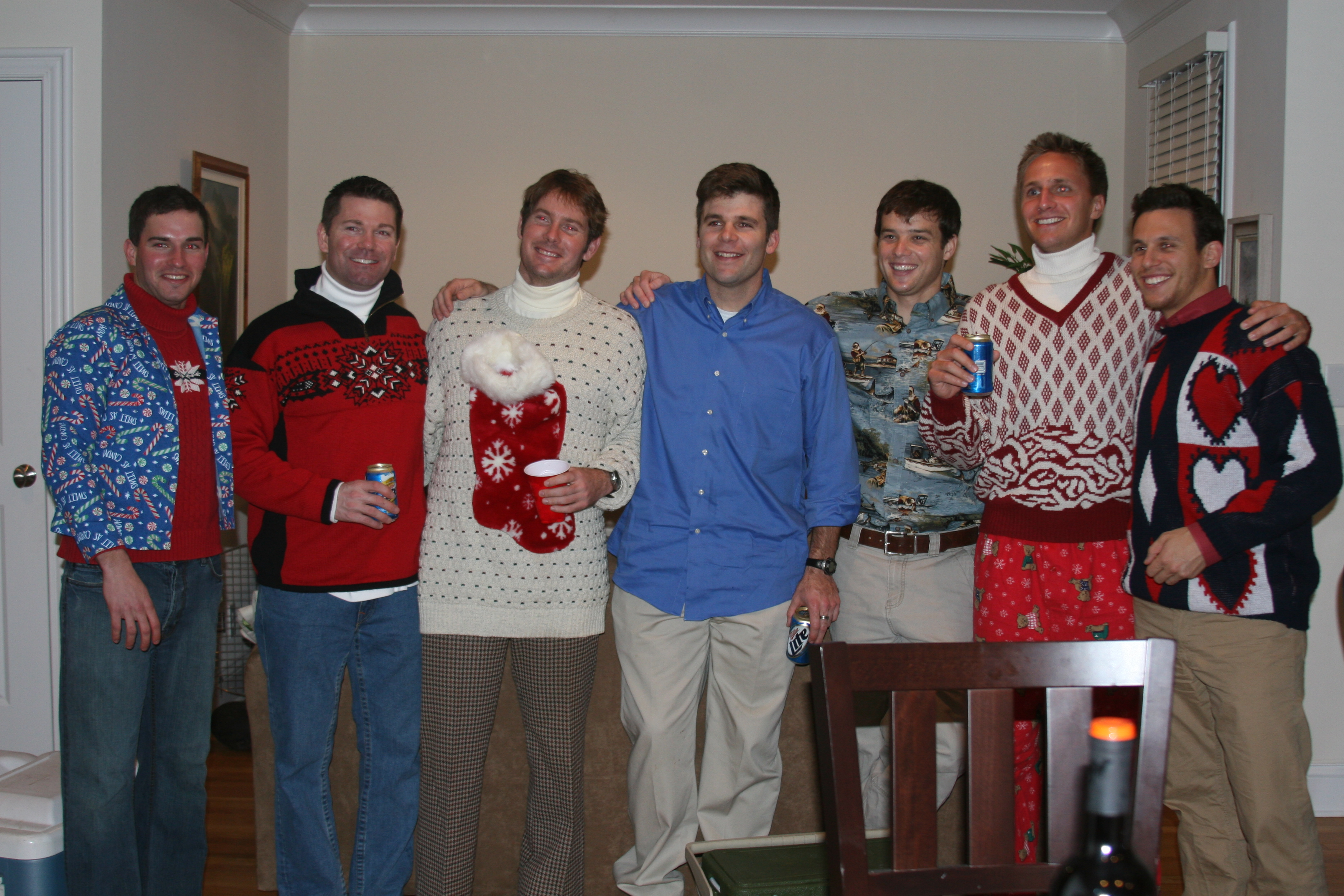 Ugly Sweater Christmas Party 2010