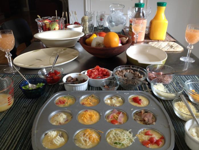 Custom Omelettes