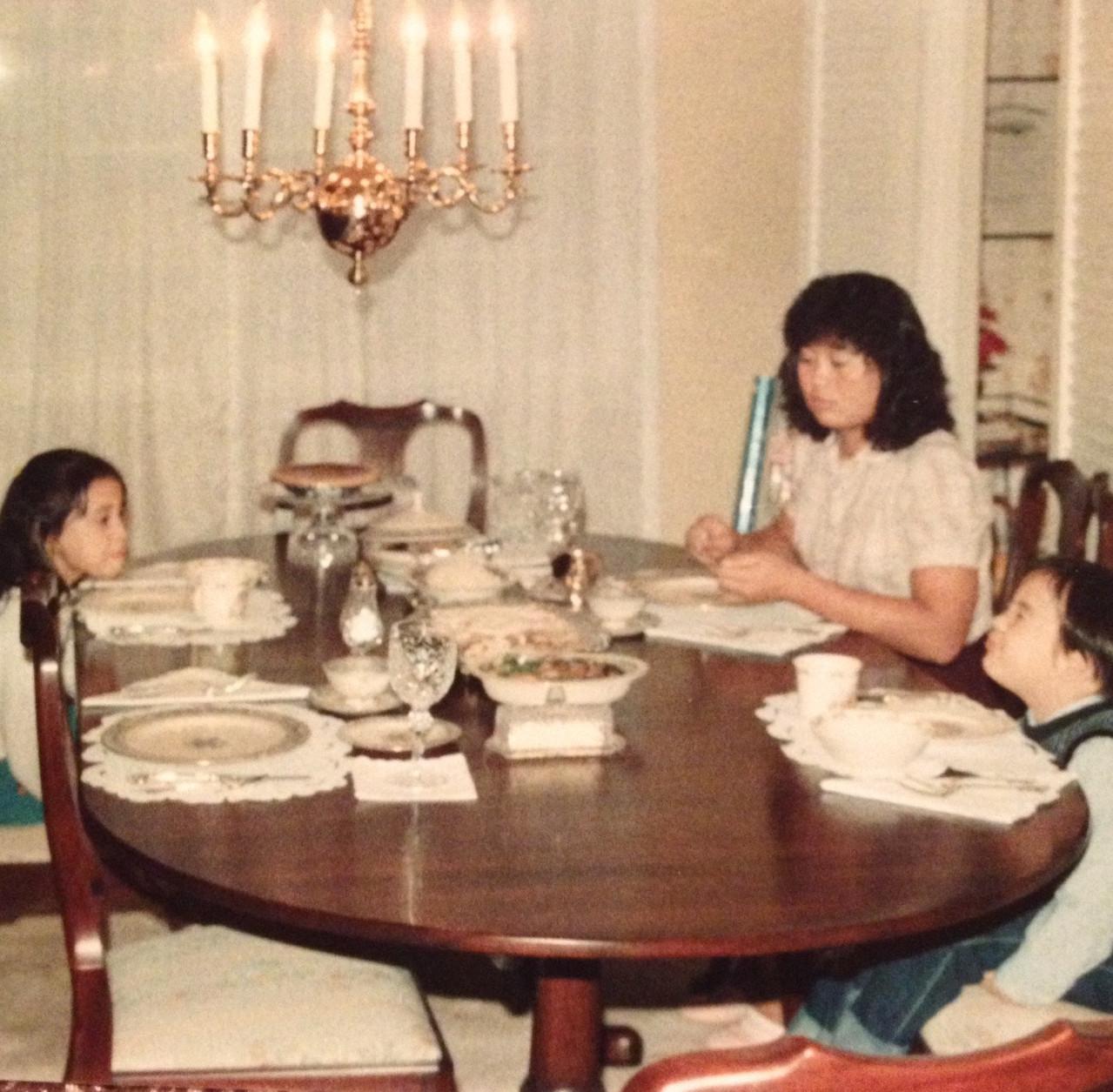 Thanksgiving 1985