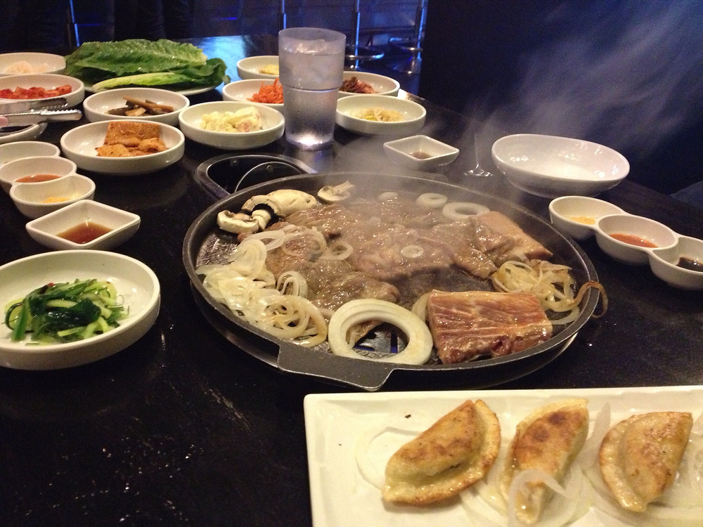 Korean BBQ in Chicago with Cuore Felice