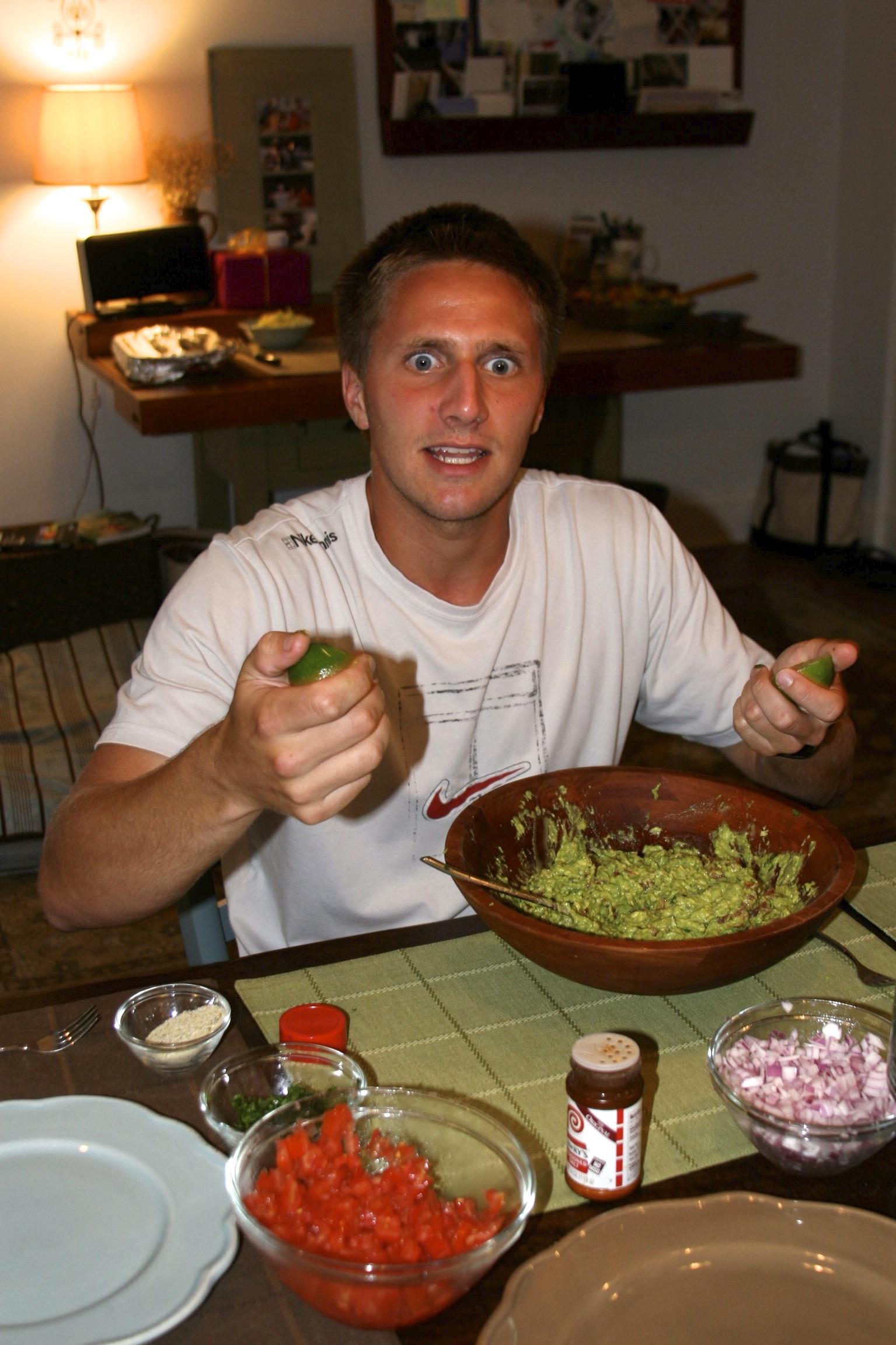 P-Dawg and his guacamole