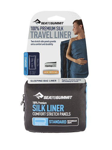 Silk Liner Mummy shape(with stretch panels)