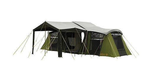 Moa 10 Canvas Frame Camping Tent