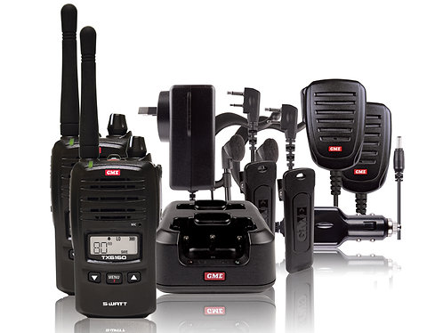 GME TX6160TP 5 Watt Radio - Twin Pack