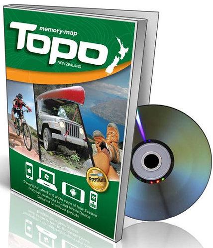 Memory Map Topo - CD NZ
