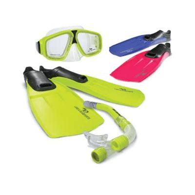 Adventure Set (mask,snorkel and fins)