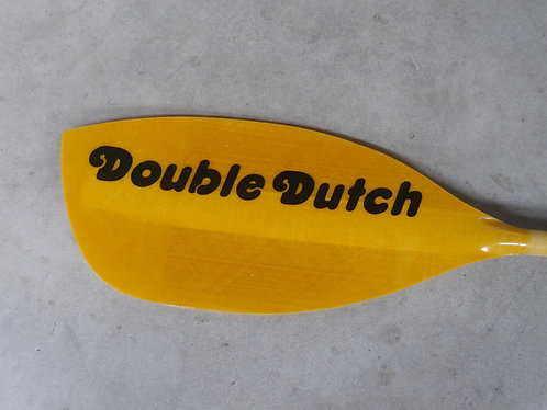 Double Dutch Magic Glass Paddle