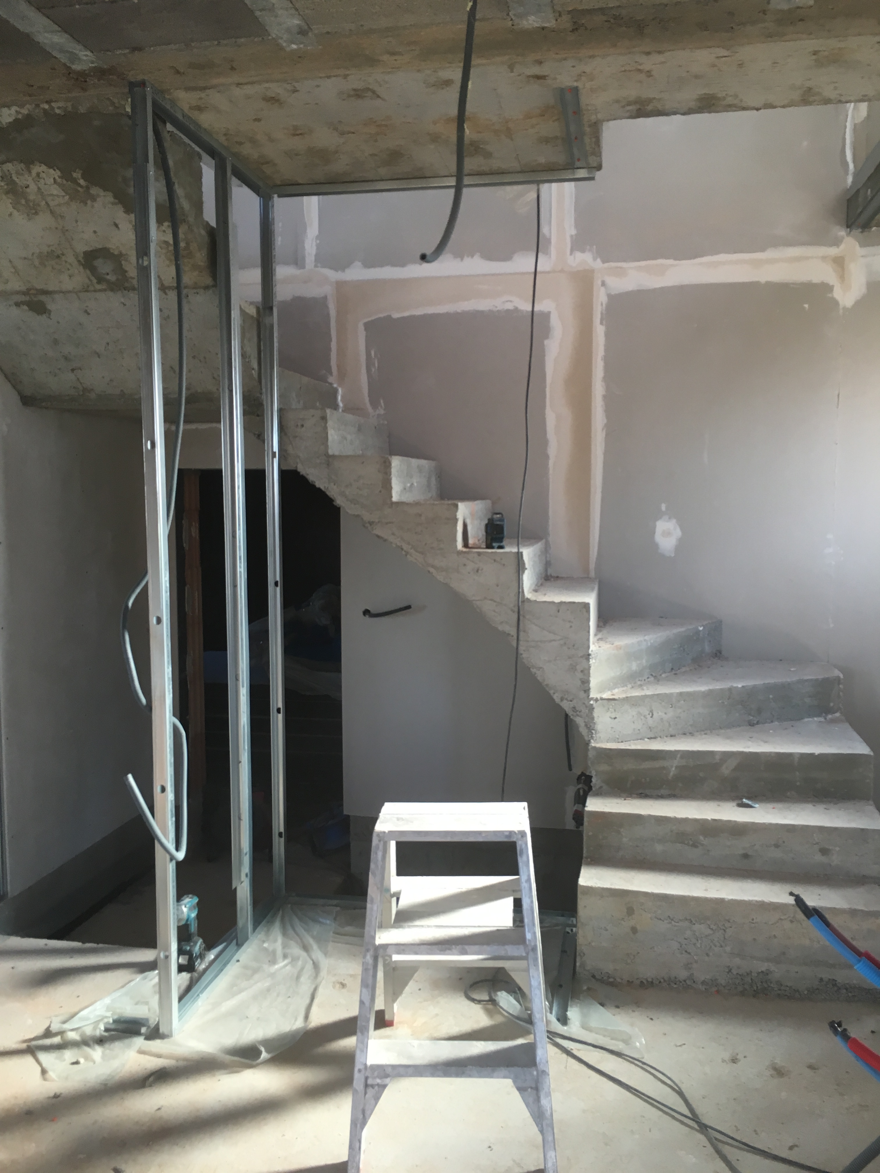 Aménagement d'une habitation neuve