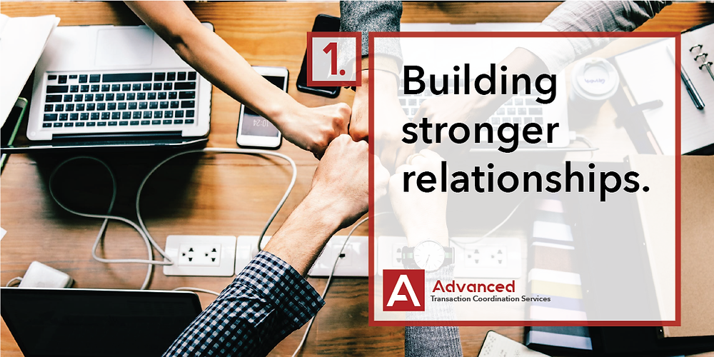 Hiring a virtual transaction coordinator for your real estate business will give you the time to build stronger relationships.
