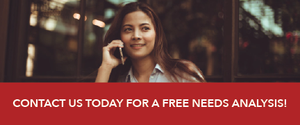 Request a free needs analysis today!