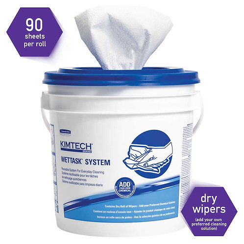 KC 06411 KimTech Prep Wipers for Bleach Disinfectants and Sanitizers
