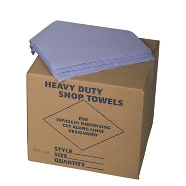 Blue Heavy Duty Shop Towel